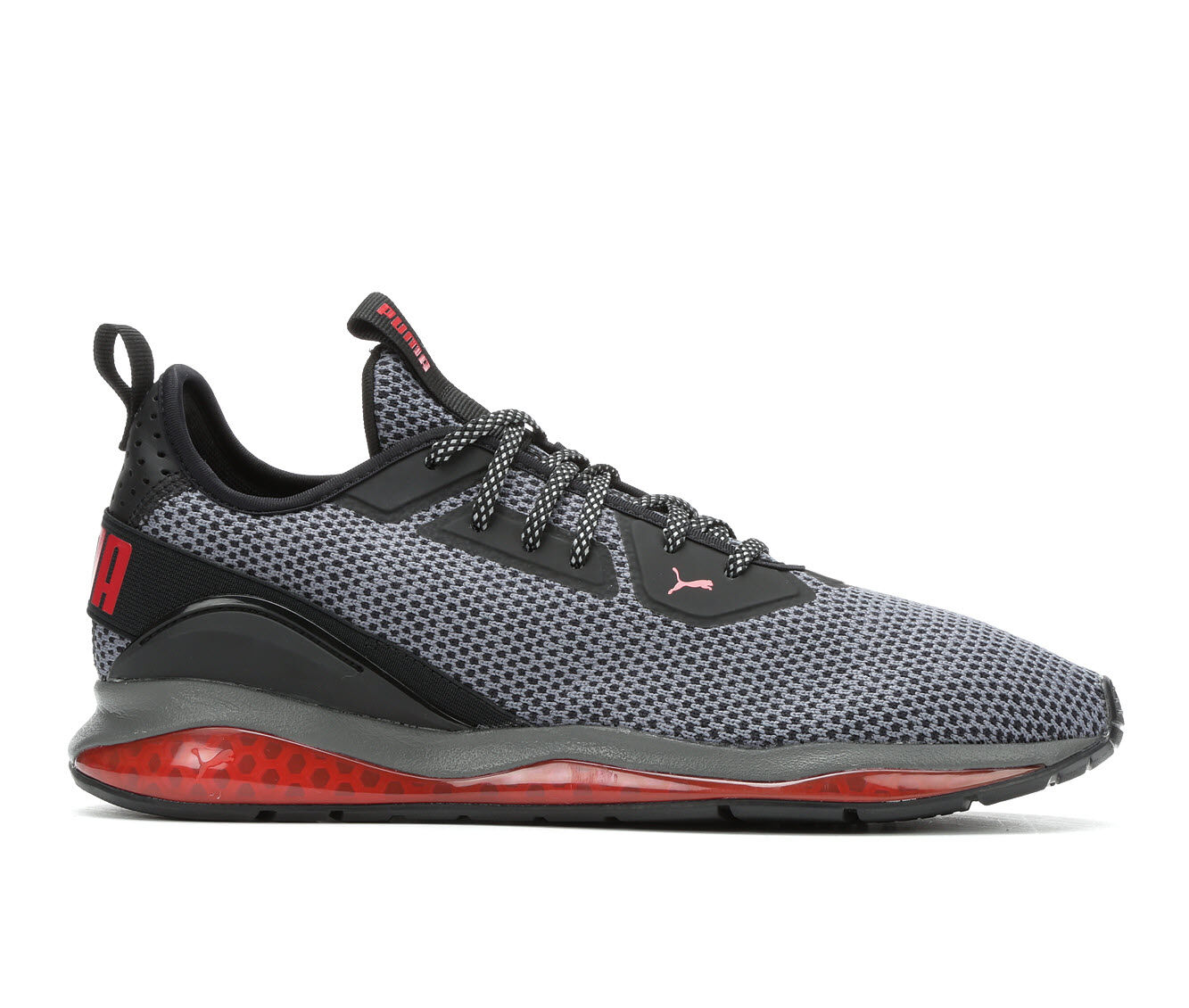 Men's Puma Cell Descend Sneakers Gry/Blk/Red