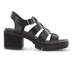 Women's MIA Lula Lugged Heeled Sandals