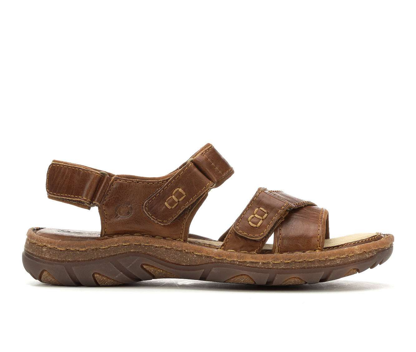 Men's Born Custer Hiking Sandals Brown