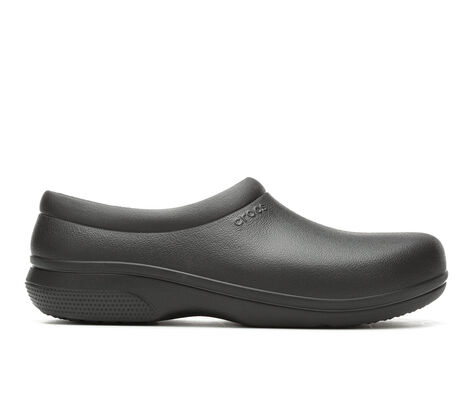 Men's Crocs Work On the Clock Slip On Safety Shoes