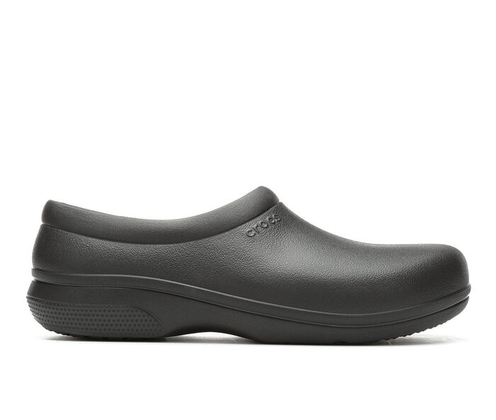 Men's Crocs On the Clock Slip On Safety Shoes