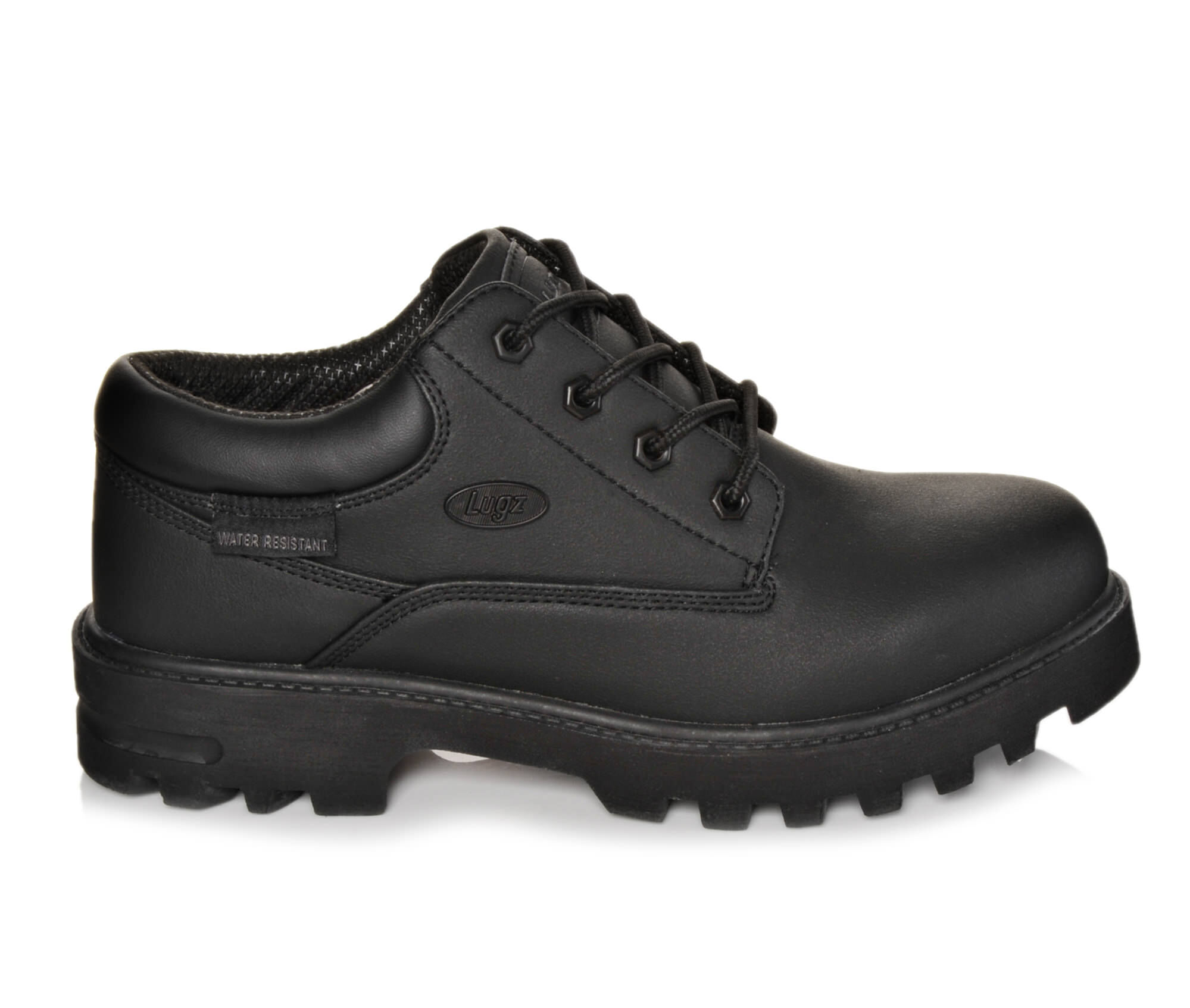 Men's Lugz Empire Lo Slip Resistant Slip-Resistant Shoes Black Scuff