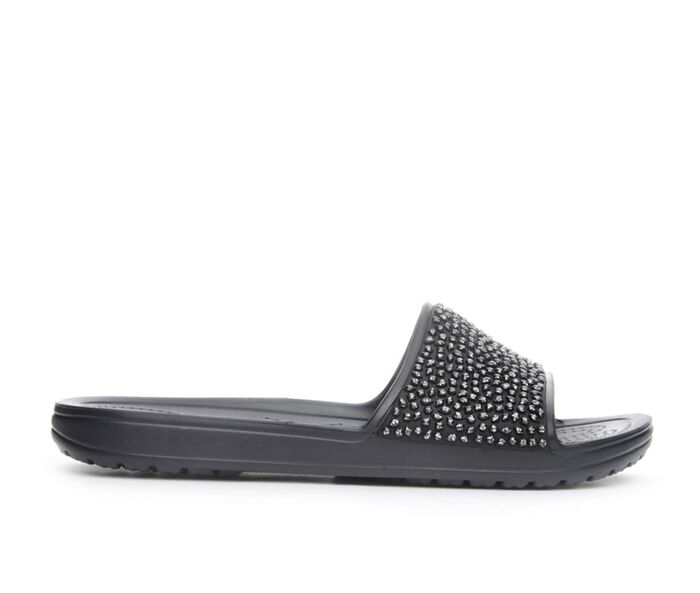 Women's Crocs Sloane Embellished Slide