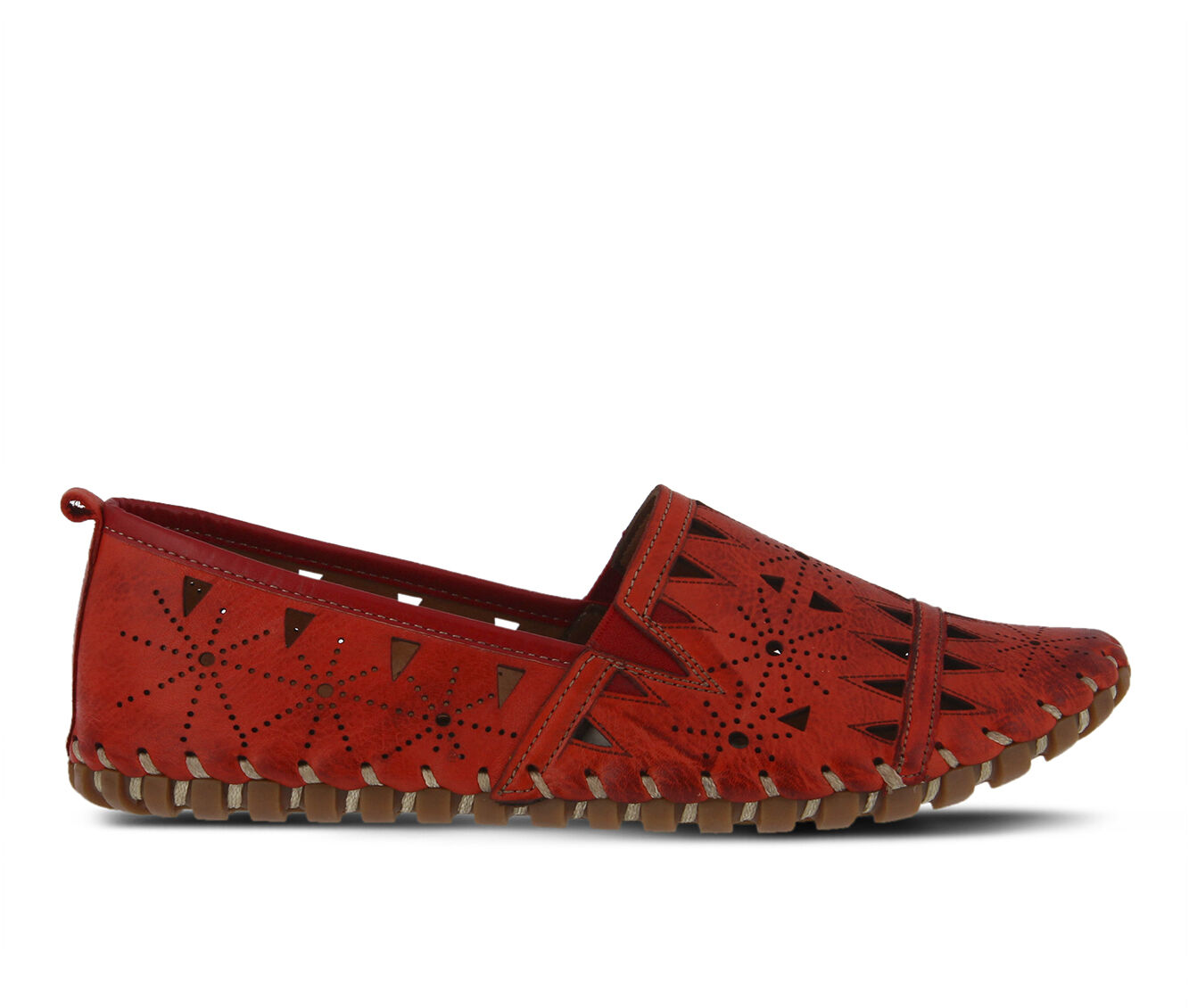 Women's SPRING STEP Fusaro Flats Red