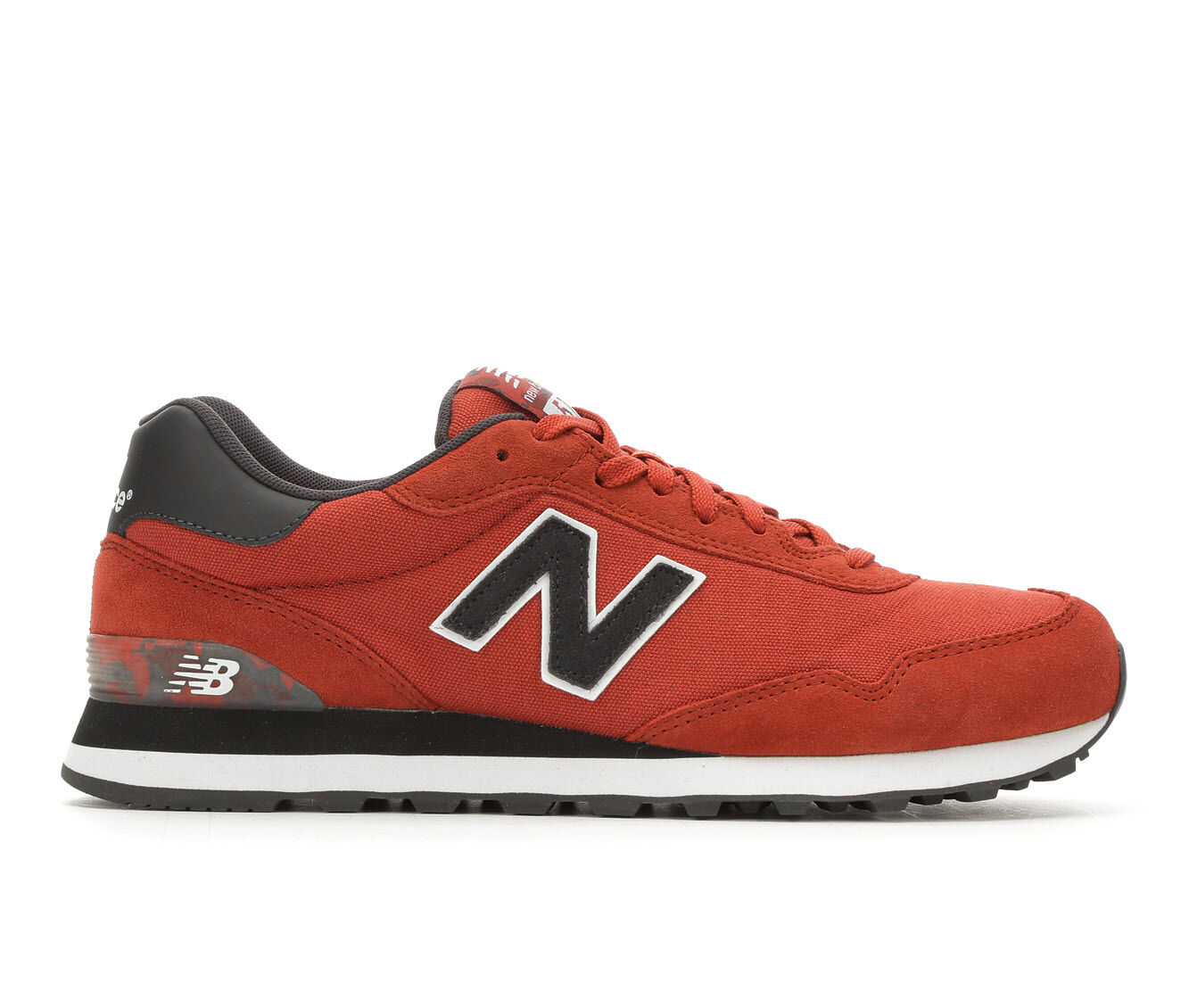 Men's New Balance ML515 Retro Sneakers Red/Blk/Wht