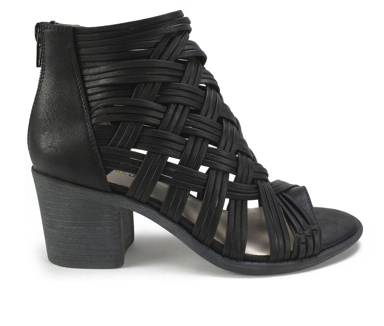 Women's Seven Dials Brixton Strappy Heeled Sandals Black
