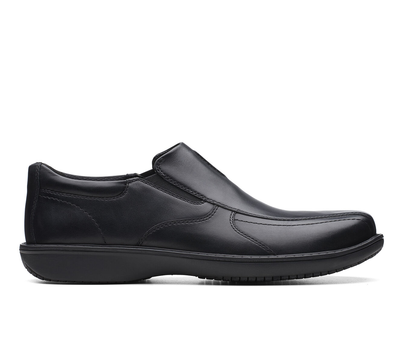 Men's Clarks Wader Twin Dress Shoes Black