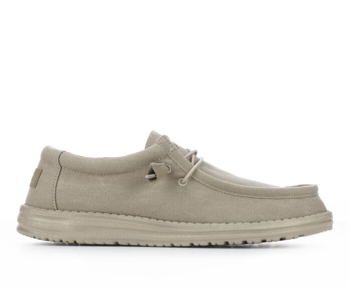Men's HEY DUDE Wally Canvas Casual Shoes