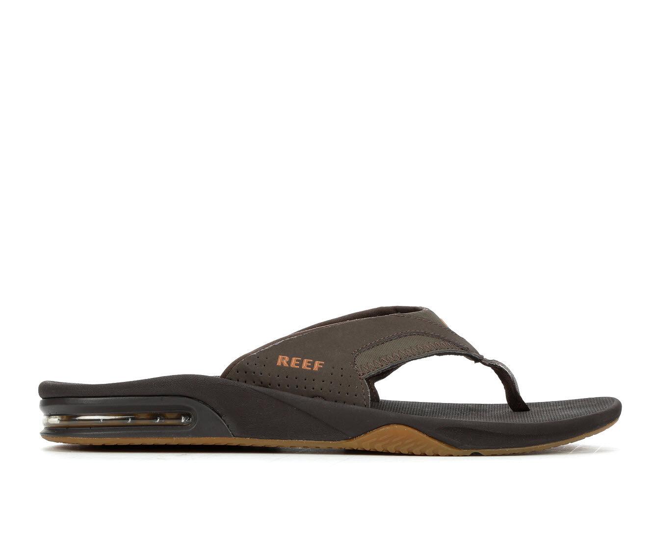Men's Reef Fanning Flip-Flops Brown/Gum