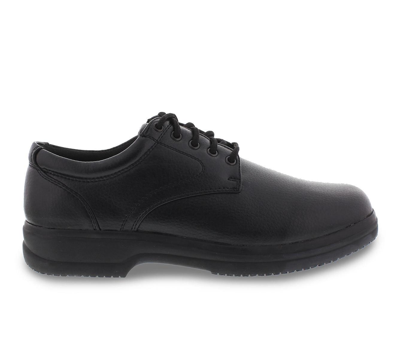 Men's Deer Stags Service Slip-Resistant Safety Shoes Black