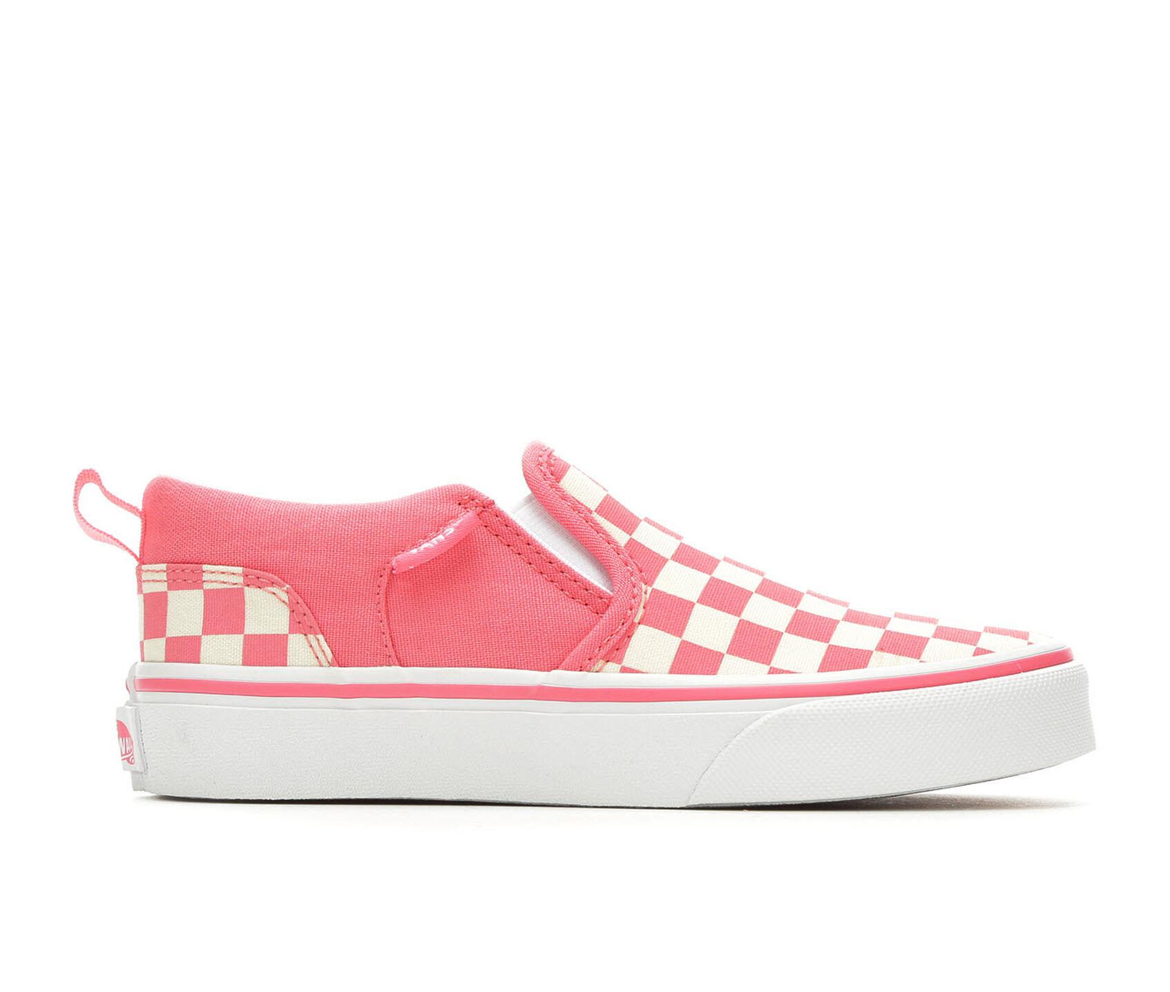 2edd4c5213efe Girls' Vans Little Kid & Big Kid Asher Slip-On Skate Shoes | Shoe ...
