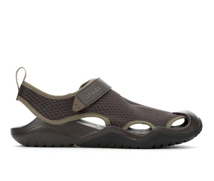 Men's Crocs Swiftwater Mesh Deck Sandal