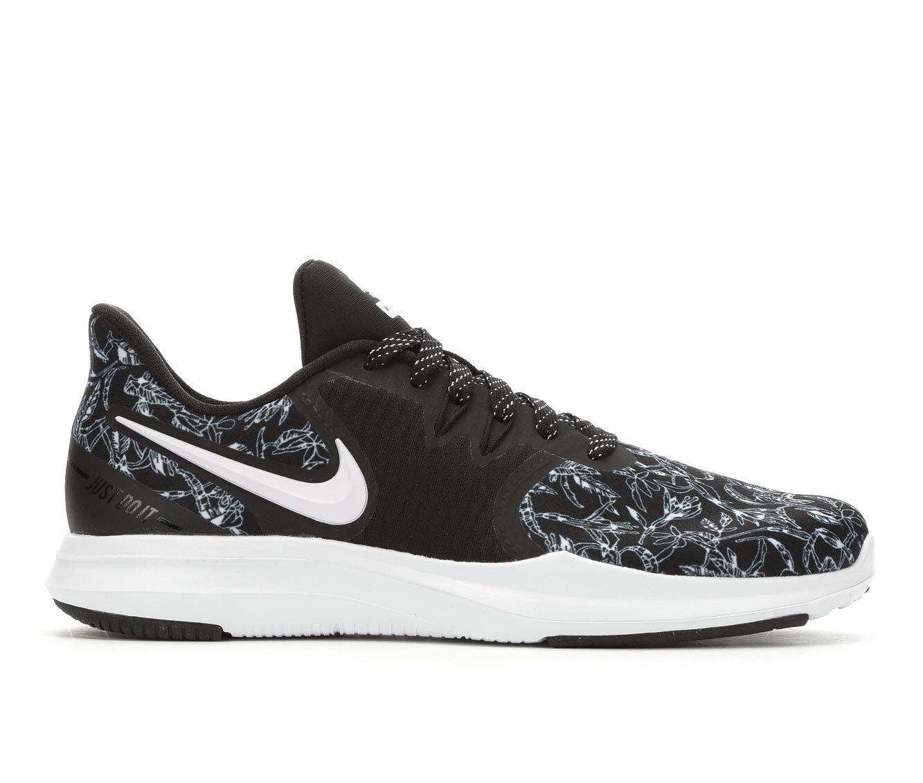 Women's Nike In-Season Tr 8 Premium Training Shoes Black/Wht Print