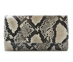 Four Seasons Handbags Animal Print Clutch