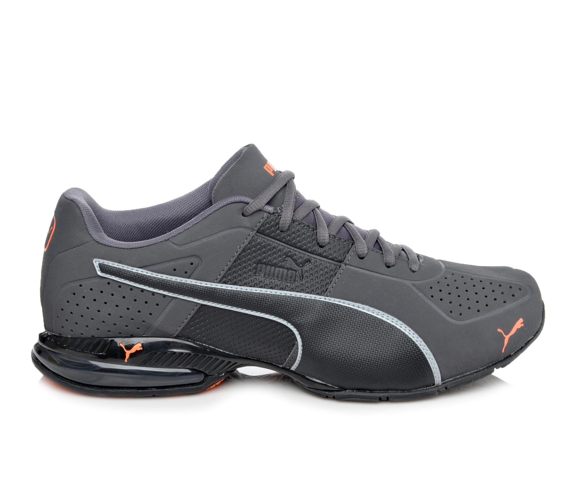 Men's Puma Cell Surin 2 Matte Sneakers Grey/Org