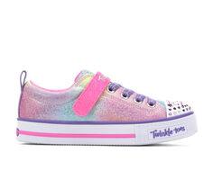 Girls' Skechers Little Kid Sweets Supply Twinkle Toes Light-Up Sneakers