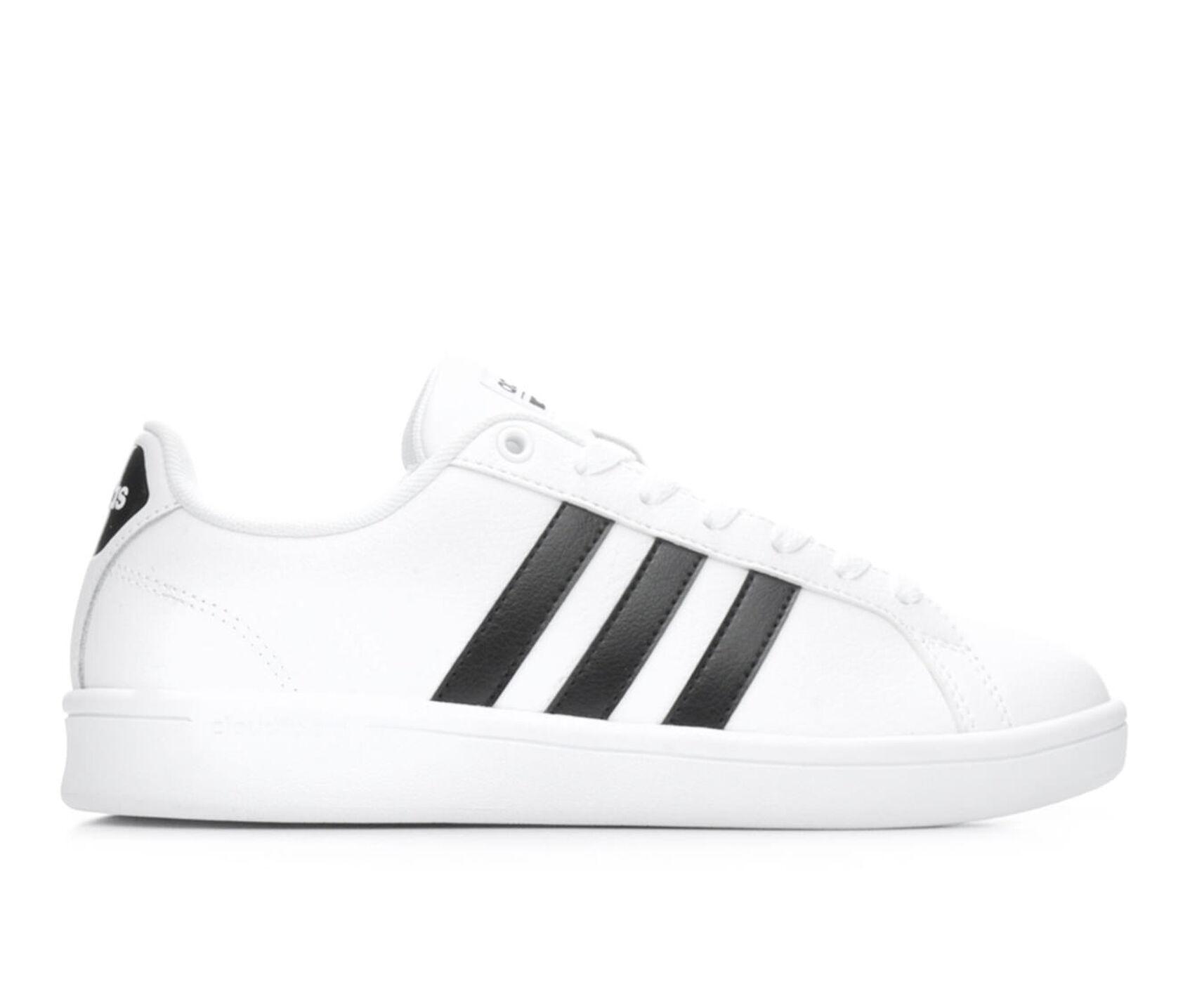 1ddca0916c1 Women's Adidas Advantage Stripes Sneakers | Shoe Carnival