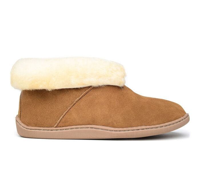 Minnetonka Sheepskin Ankle Boot Slippers