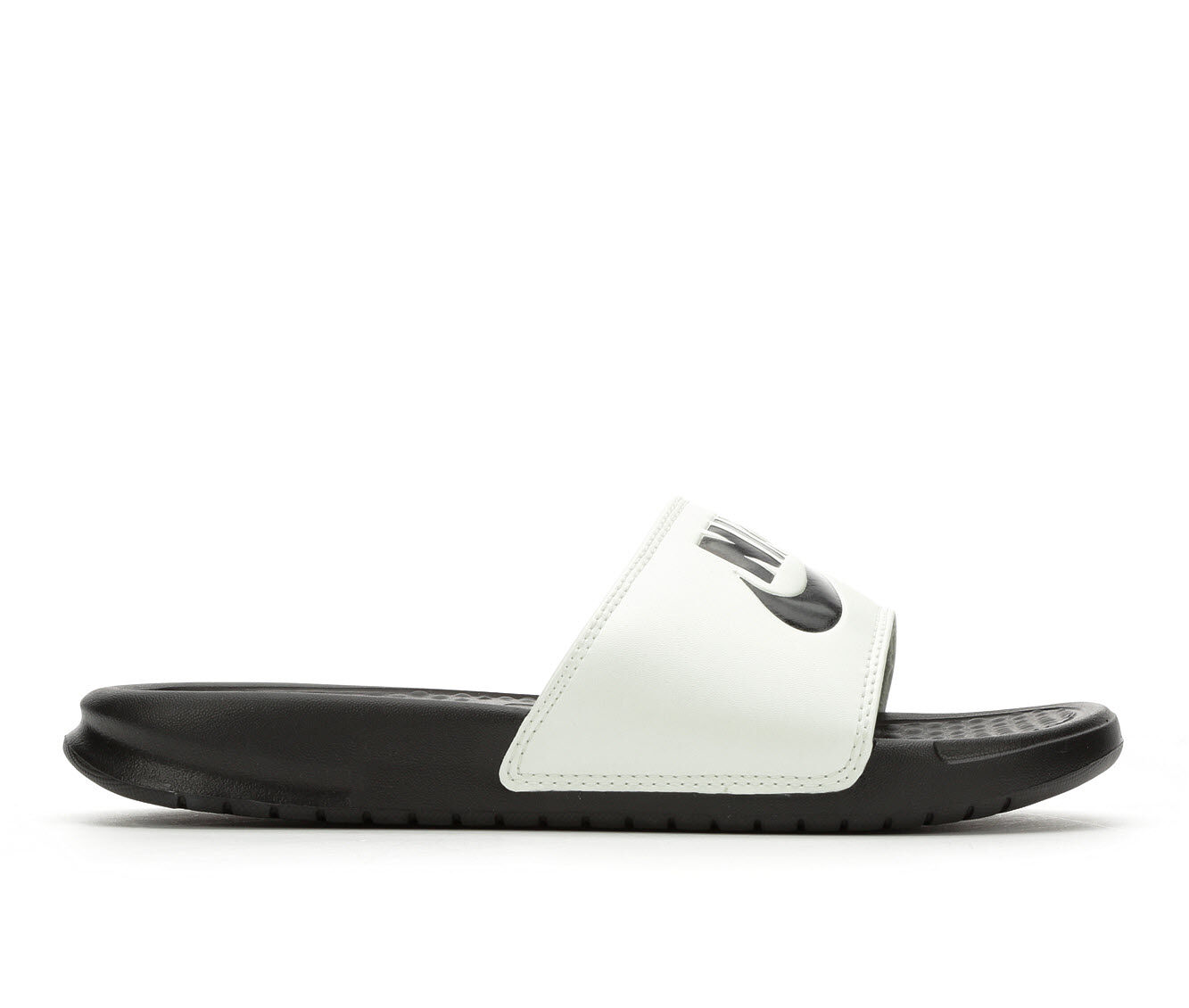 Women's Nike Benassi JDI Slide Sandals Spruce Aura/Blk