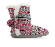 Y-Not Accessories Faisisle Knit Boot Slipper