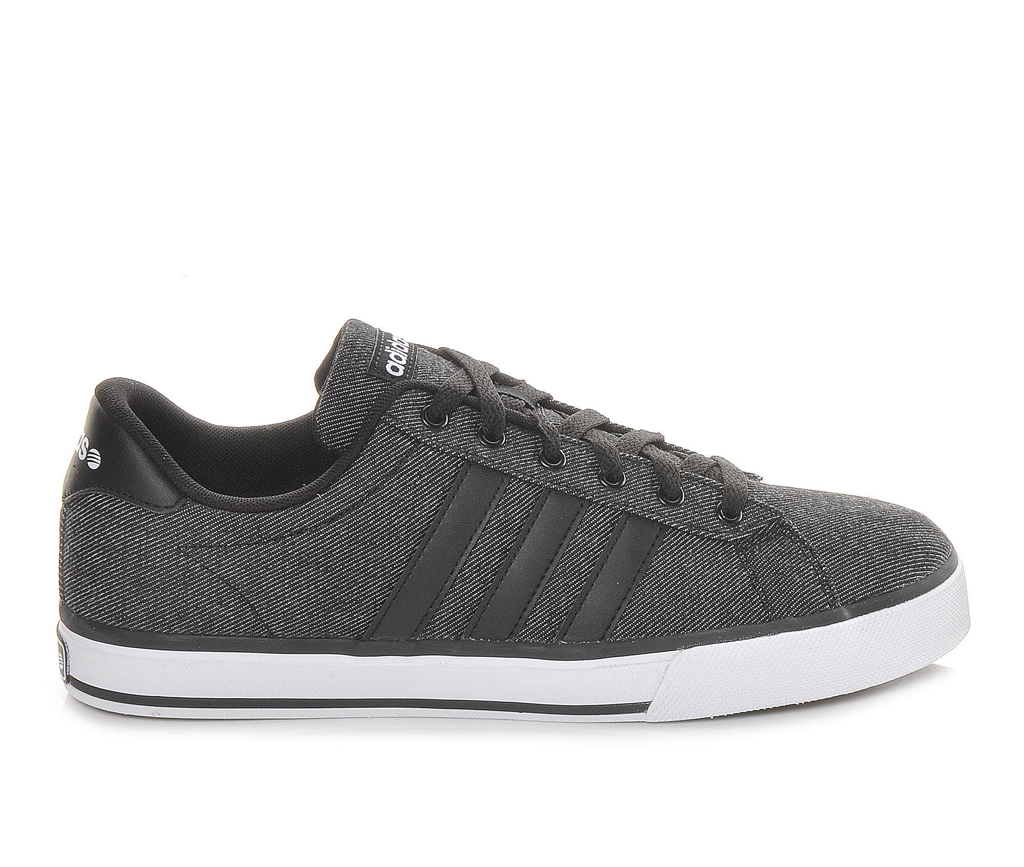Men's Adidas SE Daily Vulc Denim Sneakers