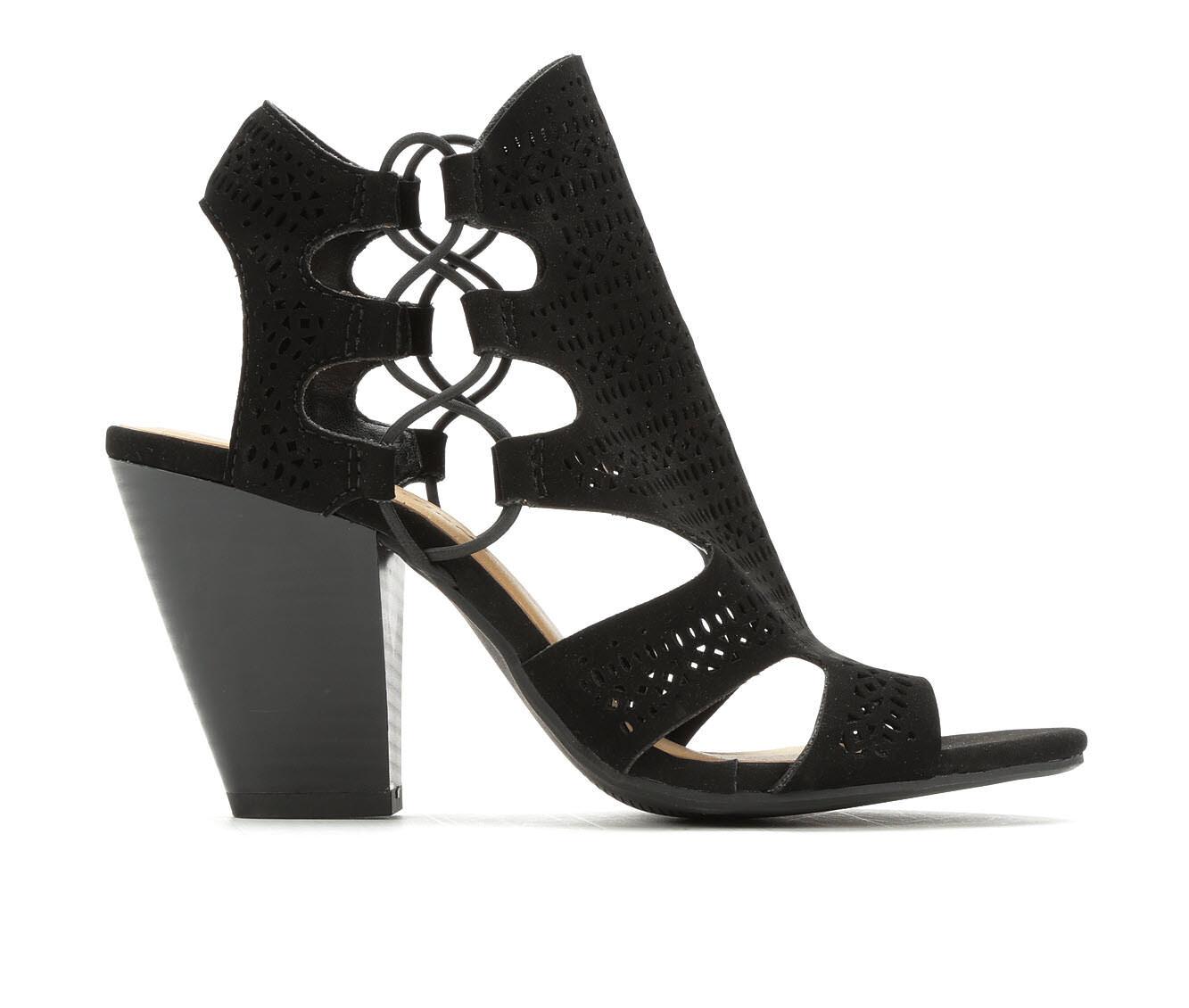 Women's City Classified Zuka Heeled Sandals Black