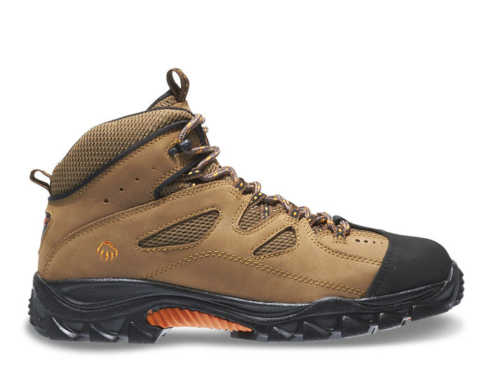 Men's Wolverine 06654 Hudson Steel Toe Work Boots