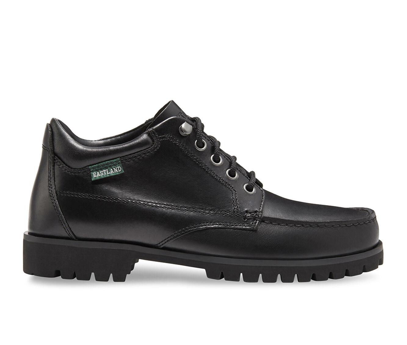 Men's Eastland Brooklyn Moc Toe Boots Black