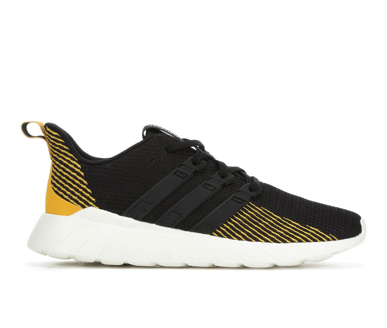 Men's Adidas Questar Flow Running Shoes Blk/Gold/Wht