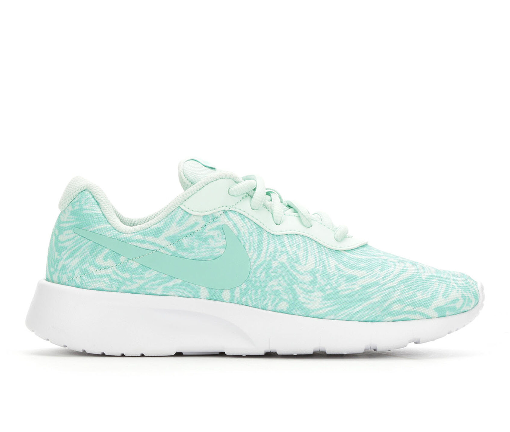 fdb3b88c5a Girls' Nike Big Kid Tanjun Print Sneakers | Shoe Carnival