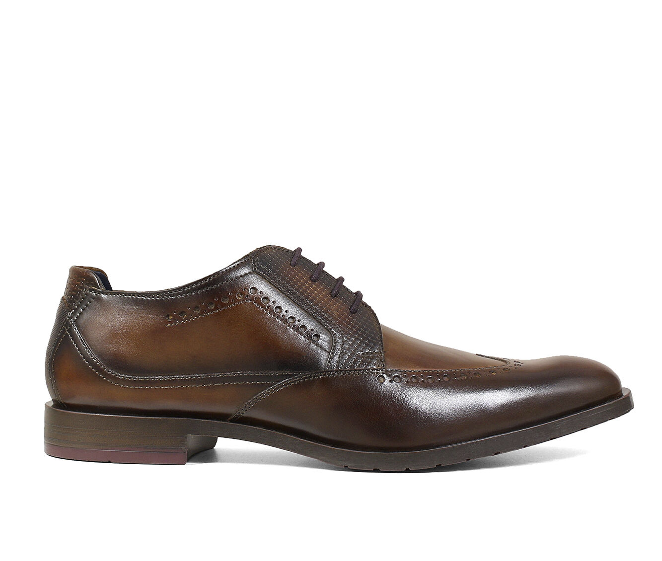 Men's Stacy Adams Rooney Dress Shoes Tan Burgundy