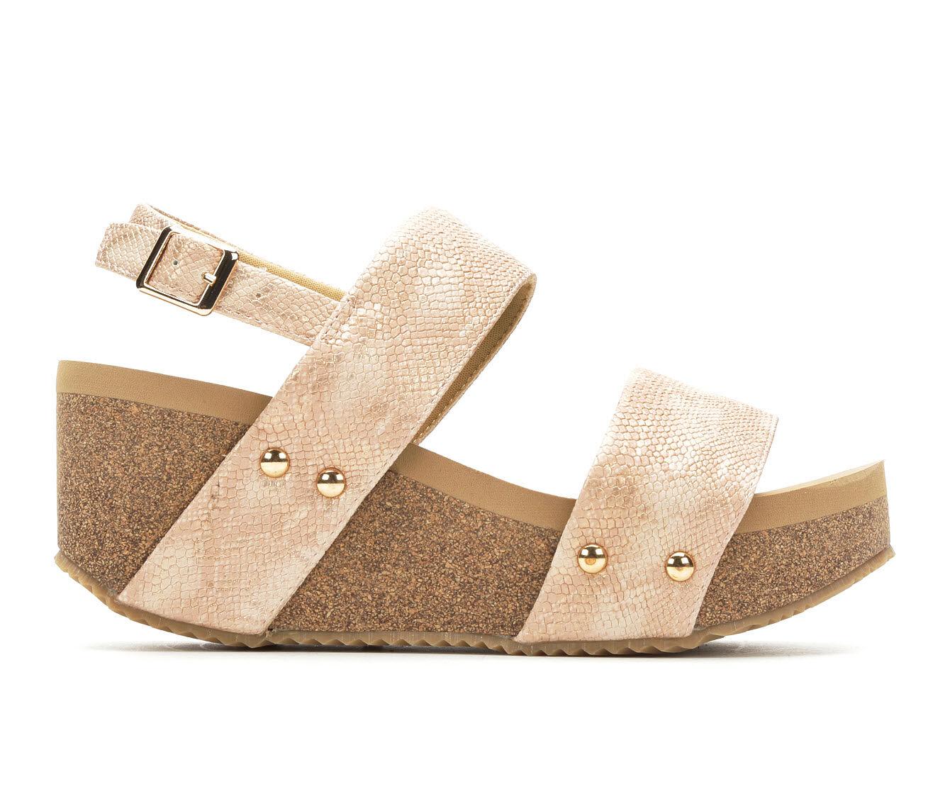Women's Volatile Windsor Wedge Sandals Blush