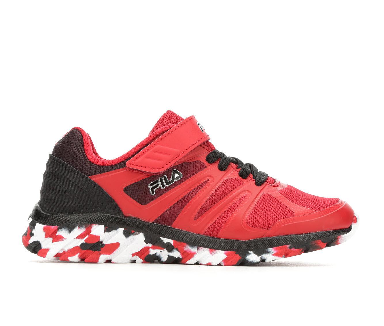Boys' Fila Little Kid & Big Kid Cryptonic 3 Strap Running Shoes