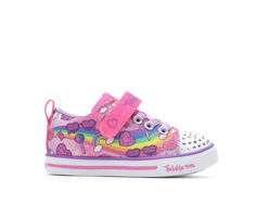 Girls' Skechers Toddler Lil Rainbow Skies Twinkle Toes Light-Up Shoes