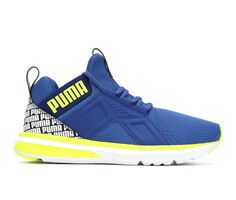 Boys' Puma Big Kid Enzo Repeat Logo Jr Running Shoes