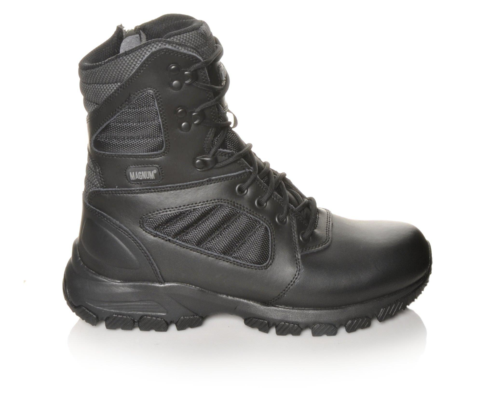 Men's Magnum Response III 8.0 SZ Work Boots Black