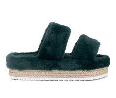 Women's Olivia Miller Ortona Flatform Sandals