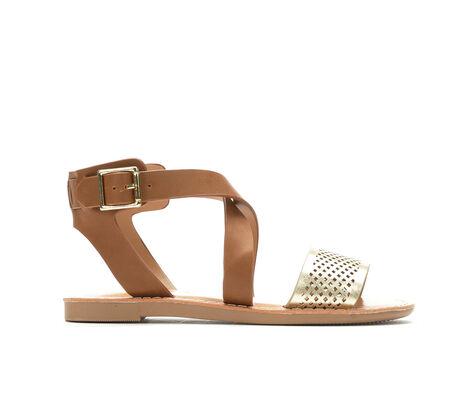 Girls' Y-Not Petrize II 11-5 Crisscross Strap Sandals