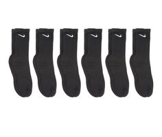 Nike Men's 6 Pr Everyday Cushioned Crew Socks