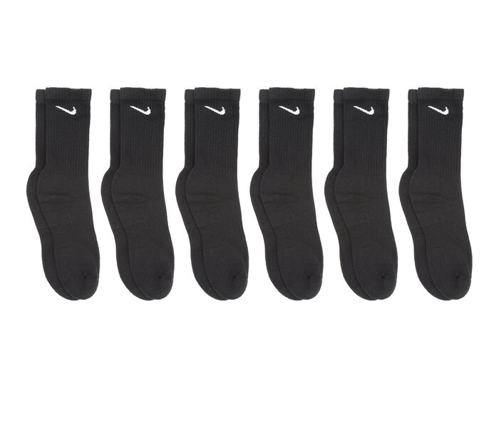 Nike Men's 6 Pr Everyday Cushioned Crew Socks