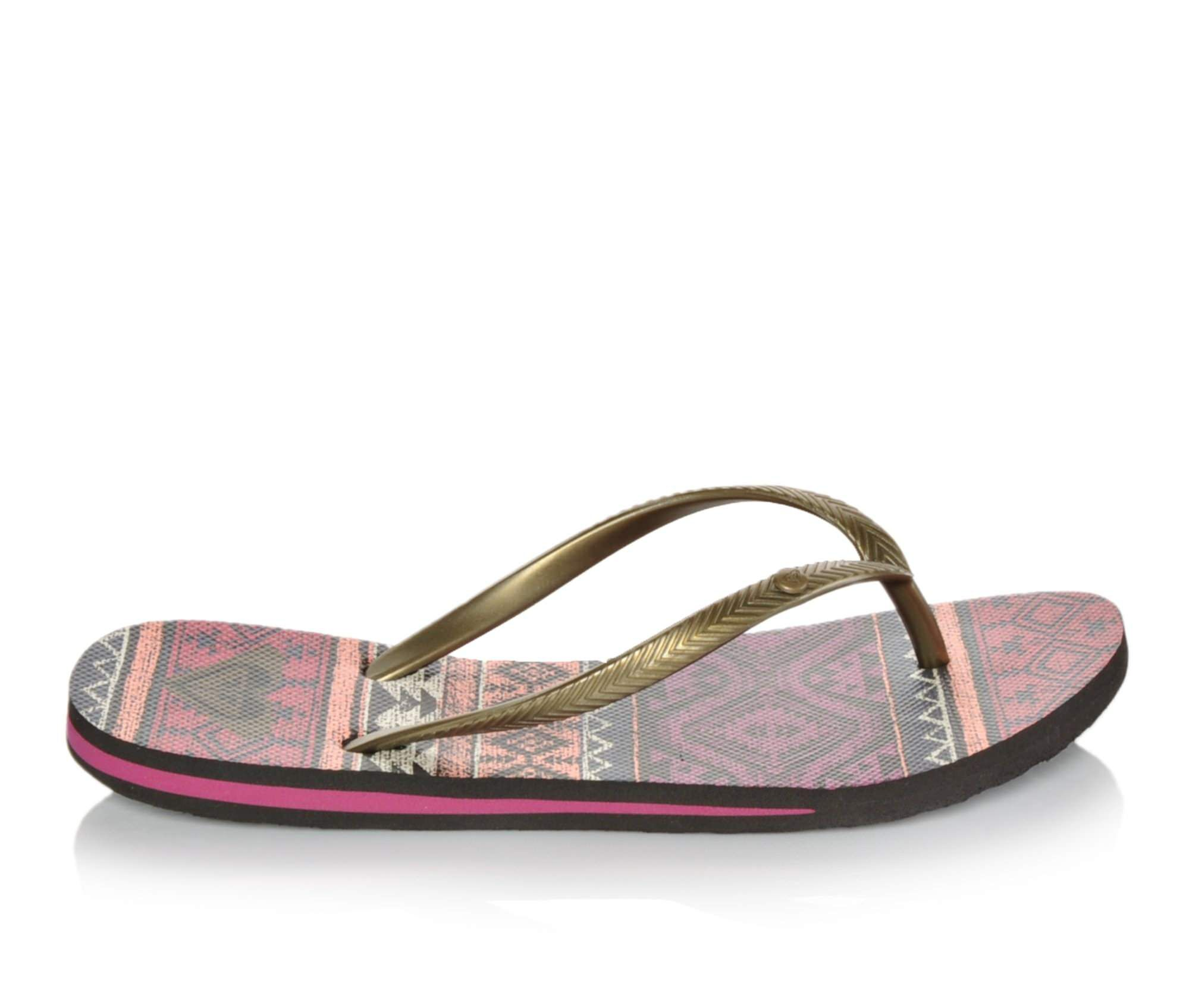 Roxy Shoes Roxy Caribbean Womens Sandals Multicolor