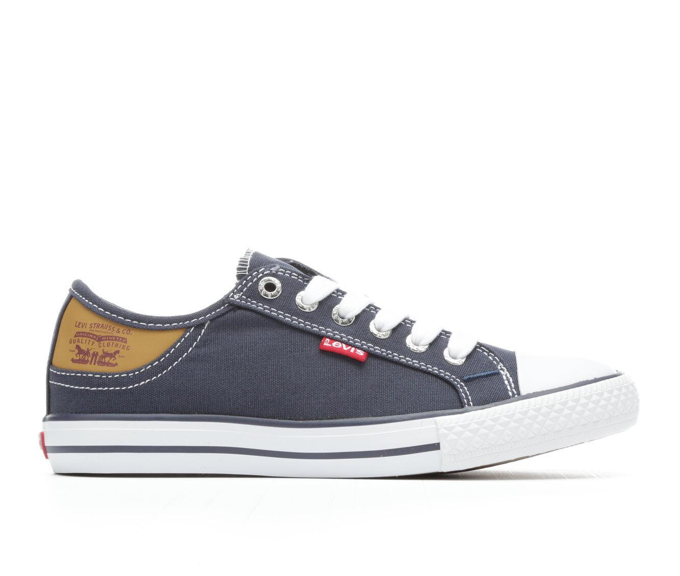 latest series Women's Levis Stan Buck Sneakers Navy/Brown