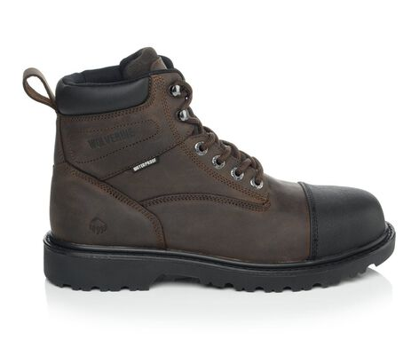 Men's Wolverine Rig Steel Toe Work Boots
