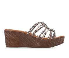 Women's Italian Shoemakers Elope Wedge Sandals