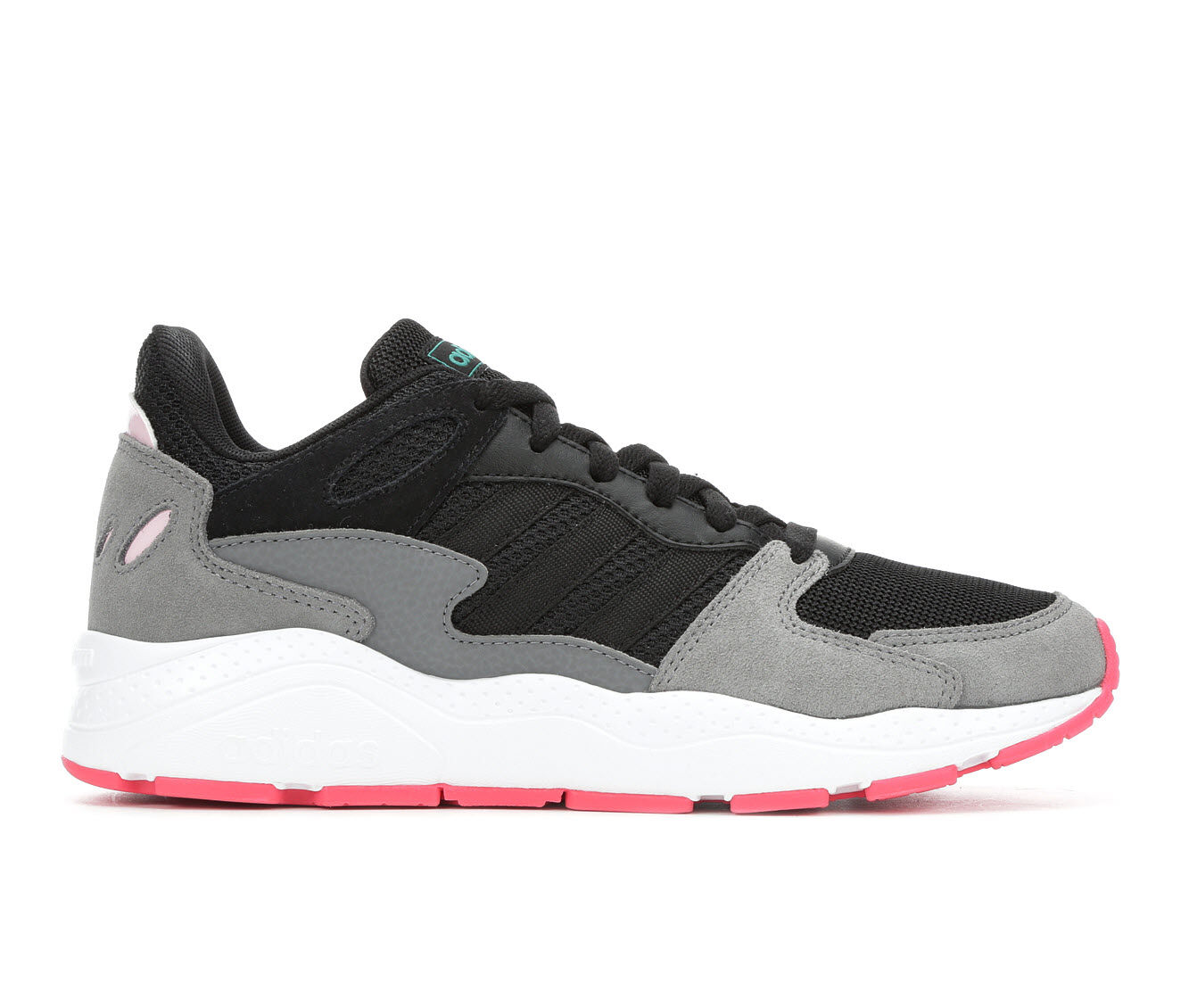 Women's Adidas Chaos Sneakers Black/Pink/Wht