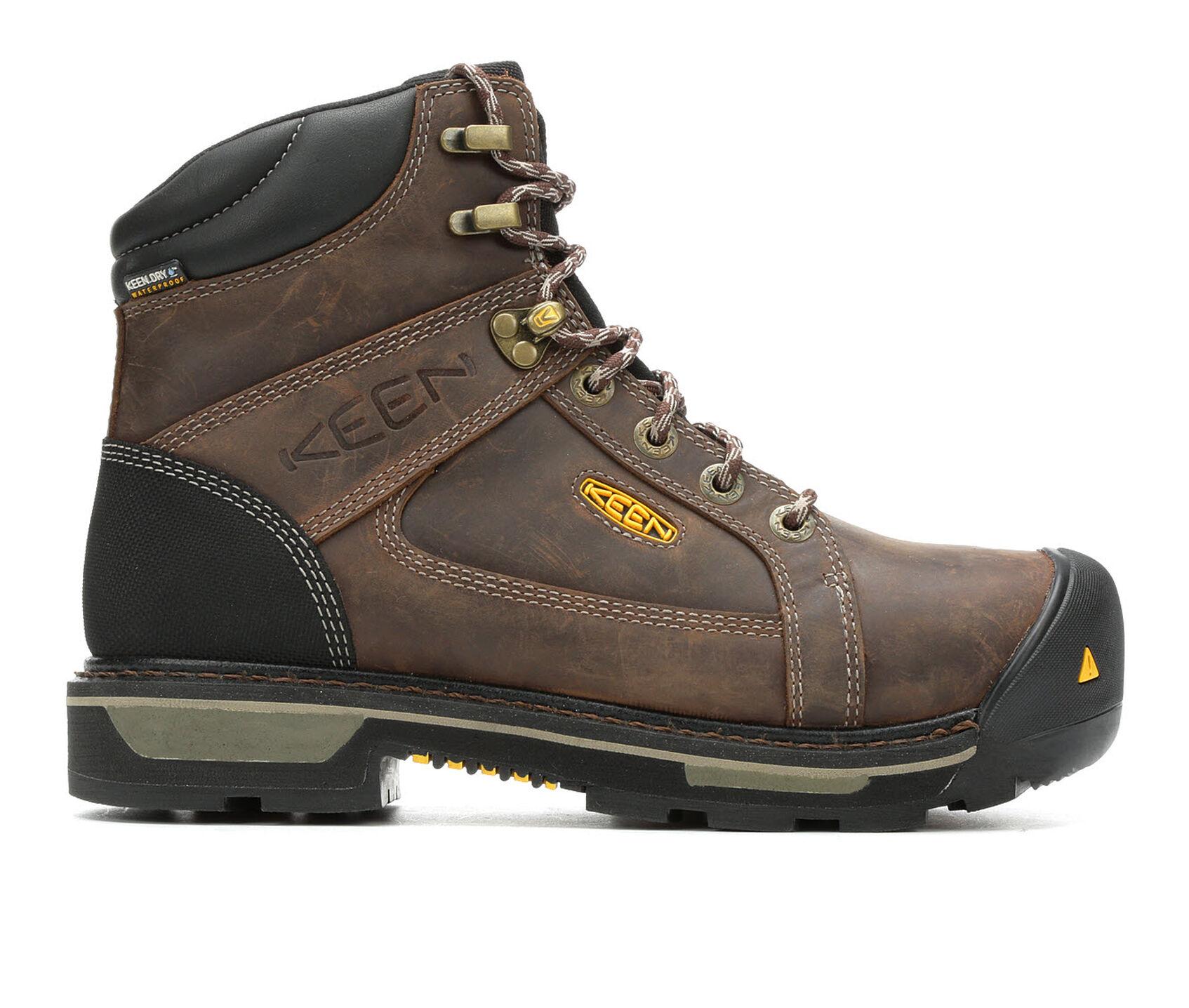 3c497e32c59 Men's KEEN Utility Rockford 6in Composite Toe Work Boots | Shoe Carnival