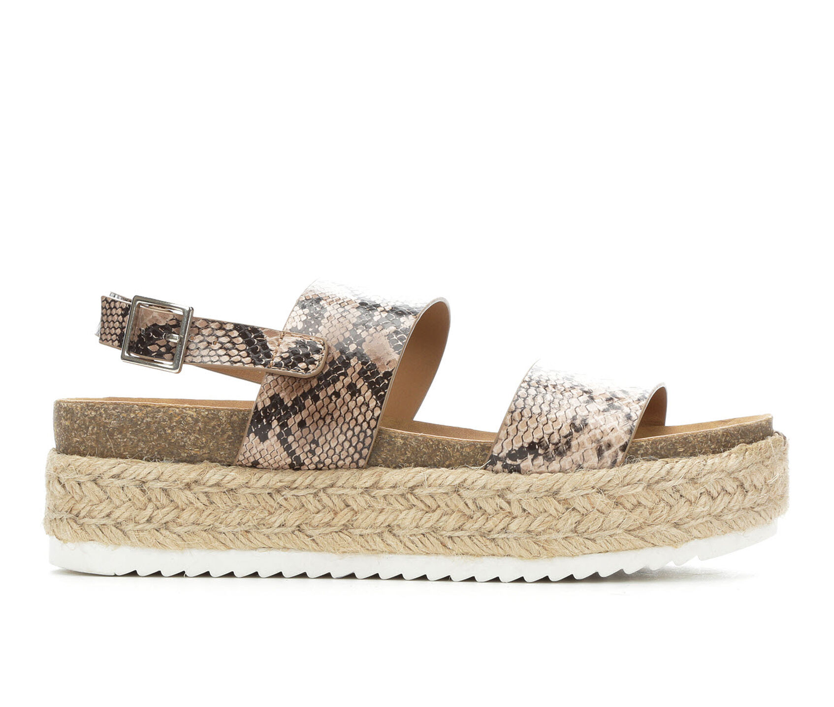 bd3cfbeda0368 Women's Soda Kazoo Flatform Sandals
