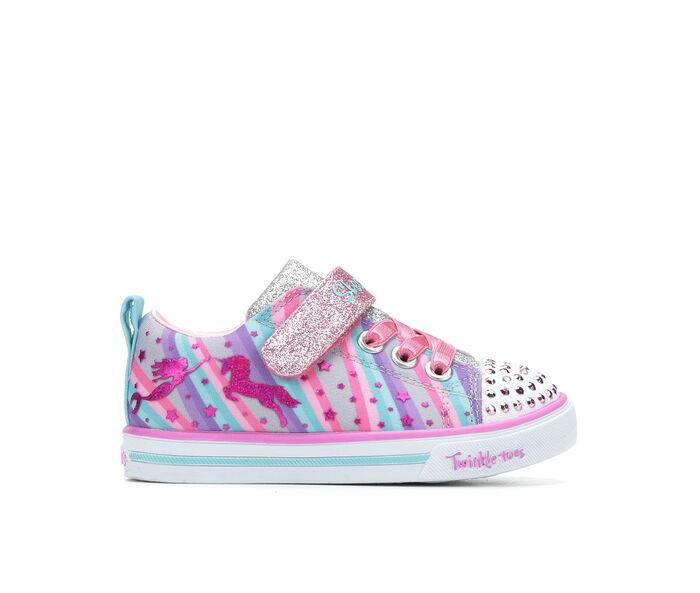 Girls' Skechers Toddler Sparkle Lite Twinkle Toes Sneakers