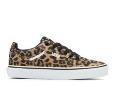 Women's Vans Seldan Animal Skate Shoes