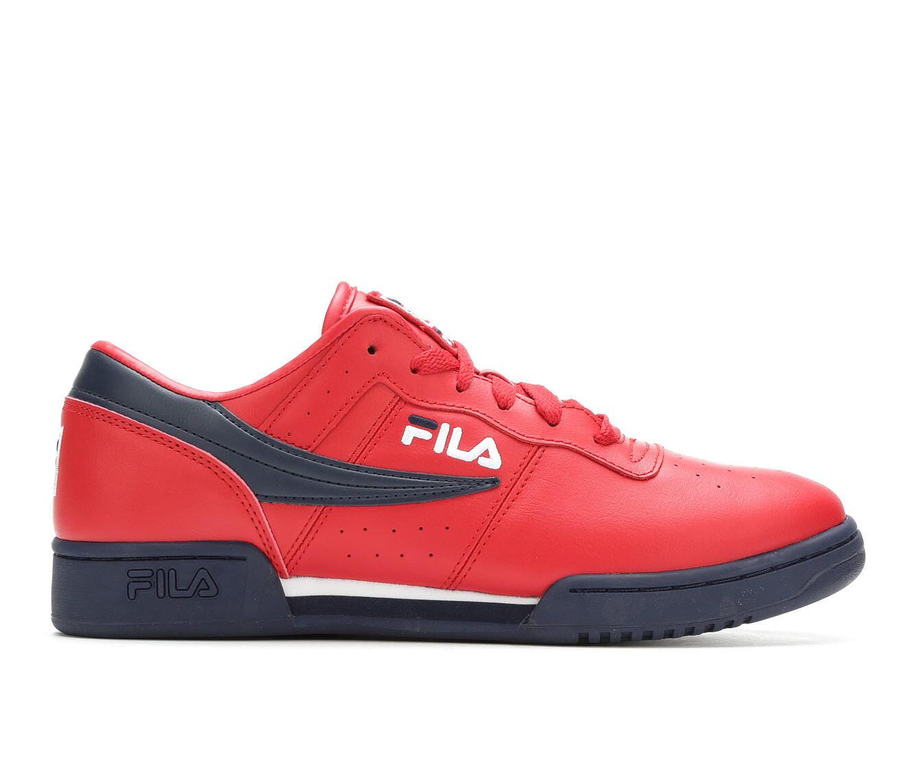 Men's Fila Original Fitness Retro Sneakers Red/Nvy/Wht